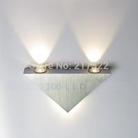 LED wall light Sconces Decor Fixture Lights Lamp Light bulb Warm White NEW