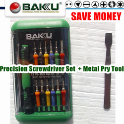 BAKU BK-6312+373+Metal Spudger . Wide Application Top Precision Tool set.Necessary Tool Kits.(China (Mainland))