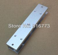 U  Type  Bracket for 280kg(600LBS)  magnetic lock, Suitable for frameless glass door  GB-280U