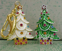 So Wonderful!~Christmas Trees USB Flash Memory Pen Drive Stick 2GB 4GB 8GB 16GB 32GB LU167
