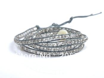 Wrap Bracelets, Модный Jewelry Handmade Leather Bracelet 4 Wrap Bracelet 6mm Austria ...
