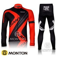 Pro Team 2012 Cycling Long Jersey and Pants Bicycle Bike Clothing