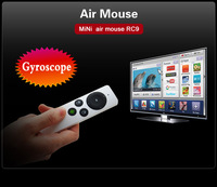 NEW Free Shipping  Arrival!!!MiNi Air Mouse RC9 Gyroscope model operation 2.4G RF wireless ,for tv dongle,PC,smart TV