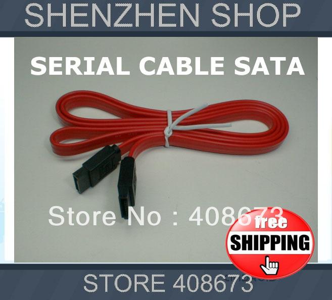 SERIAL ATA SATA RAID DATA HARD DRIVE HDD CABLES free shipping airmail HK tracking code(China (Mainland))