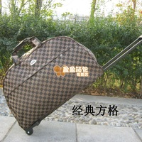 Free shipping Fashion trolley bag travel bag trolley luggage trolley bag large capacity handbag