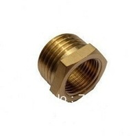 "Brass 1/2"" Male x 3/8""  Female  Reducer union  BJ114-43"