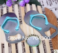 Wedding Favor Flip-Flop Sandal Bottle Opener Slipper Wine Opener In Gift box Beer Bottle Opener