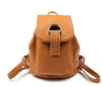 2014 Backpack PU women's  anti-theft preppy style bags free shipping