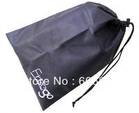 Promotion non wvoven drawstring shoes bag with your own logo imprint