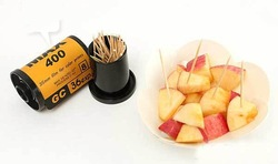 Free shipping Creative Film Modeling Household Toothpick Box Holder Container 2pcs/lot(China (Mainland))
