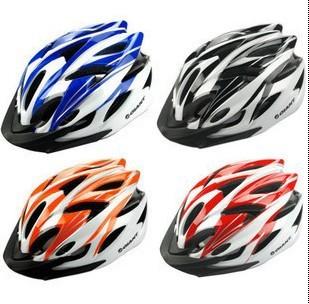 Discount high quality EPS sport cycling helmet men road dirt bike helmets adult bicycle helmet blue black orange red color