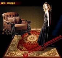 Handmade flower pure wool carpet fashion rustic chinese style sofa coffee table carpet