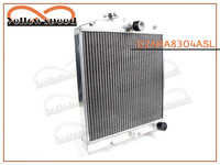 Aluminum Radiator FOR HONDA CIVIC B16A B18C B20B 92-00 2 CORE / ROW