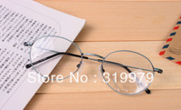 Ultra-light small round frame glasses vintage glasses myopia eyeglasses frame circle glasses male prince's mirror