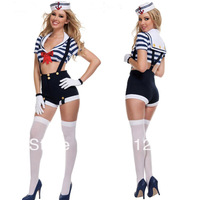 Free shipping !!hot sell,sexy navy Costumes, Women Sailor cosplay,women halloween costume,party dress Theme party clothing