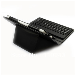 50pcs for 7&quot; BlackBerry Playbook Tablet PC Wireless Bluetooth Keyboard &amp; PU Leather Case ,Retail Box +Free Shipping by DHL(China (Mainland))