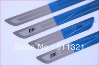 High quality Fashion Door sill scuff plate cover trim For VW Volkswagen Golf MK4 1J 1997-2003 MK5 1K 2003-2008 MK6 5K 2008-2013