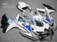 blue white silver fairing kit FOR suzuki 2008 2009 GSXR 600 750 K8 GSXR600 08 09 gsx-r600 gsxr750