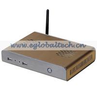 Small PC Pre-installed Windows 7 professinal Mini Desktop, D525 1.8G 4G RAM 500G HDD MAC Mini Computers connection terminator