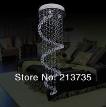 Free shipping Modern crystal Chandelier LA001 35 120cm modern pendat lamp 4 lights