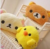 Bear nap pillow hand pillow  hand warmer plush toy doll