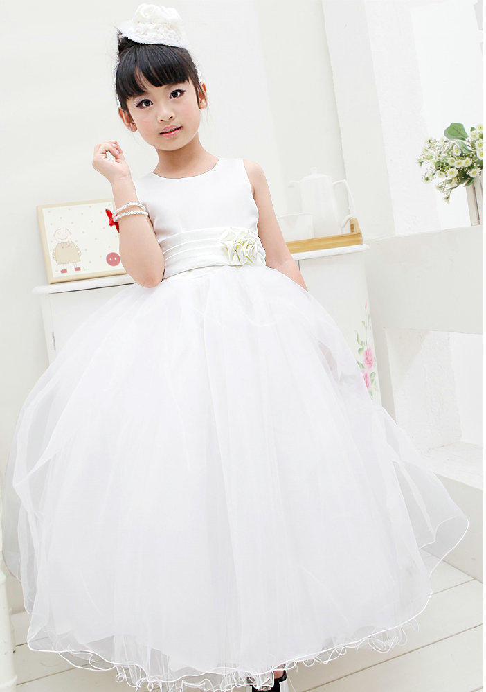 Wedding gowns for kids promotion online shopping for for Dresses for wedding for kids