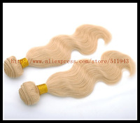 100% Indian Virgin Curly Hair Body Wave Blonde  8-30 Inch 613# Free Shipping
