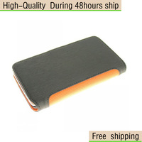 New Toothpick Style Wallet Leather Case Stand Cover For Samsung Galaxy Note 2 II N7100 Free Shipping UPS DHL EMS HKPAM
