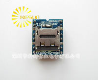 FREE SHIPPING 5PCS/LOT WTV020 WTV020-SD WTV020SD-20SS Mini SD Card MP3 Sound Module For PIC Ard uino 2560 UNO R3 A060