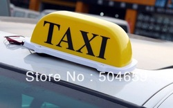 TAXI Car Lamp Light Cab Sign Topper Roof Waterproof YELLOW(China (Mainland))