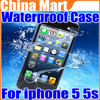 Ultra Thin Waterproof Case Water Resistantance Skin Cover Pouch for iPhone 5 5s Free Shipping + Drop Shipping