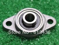 Free shipping wholesales, 10 mm caliber zinc alloy bearing KFL000  flange bearing with pillow block