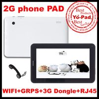 Free shipping 2013 New 7inch 2G Phone Call Dual Camera Android 4.0 Allwinner A13 512MB Ram 4gb Rom Tablet PC