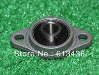 Free shipping wholesales 8 mm caliber zinc alloy bearing KFL08 FL08  flange bearing with pillow block