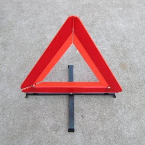 Parking triangle warning frame triangles reflective triangle warning frame(1 pieces)(China (Mainland))