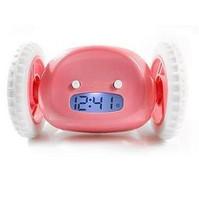 S5Y Geek Running & Jumping Digital Robot Loud Alarm Clock Kid Boy Girl Toy Gift #B361