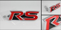 RS 3D had standard auto logo\3d car logo sticker\Guaranteed 100%\Stereo feeling\customize\League\