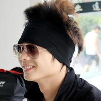 2013 New Arrival Padded headband male wigs four seasons band sports headband fashion hair band hair band bandanas winter hat