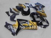 S141 NEWEST golden black Fairing for SUZUKI GSXR1000 07 08 GSX-R1000 07-08 GSX R1000 2007 2008 GSXR 1000 K7  07 08 2007 2008