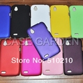 Hard Rubber Coating Case Back Cover for HTC Desire X T328e Rubberized Plastic 10 colors DHL free Shipping 100pcs/lot