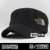 2013 Spring exquisite embroidery 100% cotton male women's cadet hat, brief military, casual outdoor sports cap