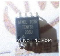100% NEW ATMEL ATTINY85 TINY85 8-bit MCU with 2/4/8K Bytes In-System Programmable Flash IC(ATTINY85-20SU)