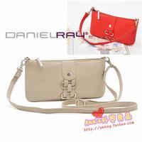 Danielray women's handbag brief all-match women's handbag cross-body hand women's handbag red light gray