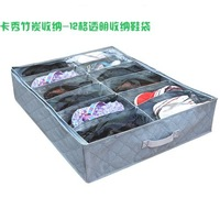 free shipping!!!12pcs Bamboo Charcoal Storage bag for shoes  4pcs/lot