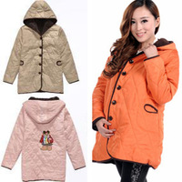 Maternity clothing winter outerwear maternity outerwear autumn and winter maternity overcoat maternity wadded jacket