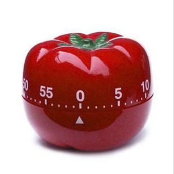 Cooking Tomato 60 Minute Kitchen Timer Free Shipping(China (Mainland))
