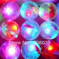 up to 20% off  free shipping sale Flash ball bouncing ball children Creative  toy  20pcs