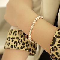 Single row drill women's bracelet fashion accessories jewelry girlfriend gifts