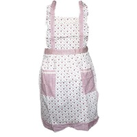 3pcs/Lot, Free Shipping Korean Strap Aprons Quality Mianmian Korean Version Of The Canvas Aprons Kitchen Apron   650008