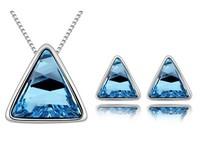 2014 New wholesale Fashion Elegant noble jewelry  Make With Austria Elements Crystal Set   free shipping HB6778